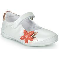 Buty Dziewczynka Baleriny GBB EMILIETTE Biały