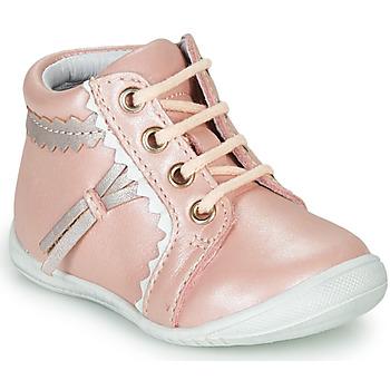 Buty Dziewczynka Trampki wysokie GBB ACINTA Różowy