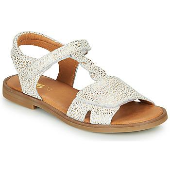 Buty Dziewczynka Sandały GBB FARENA Biały / Złoty