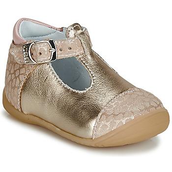 Buty Dziewczynka Baleriny GBB MERTONE Beżowy