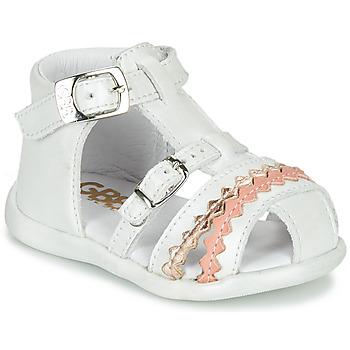 Buty Dziewczynka Sandały GBB ALIDA Biały