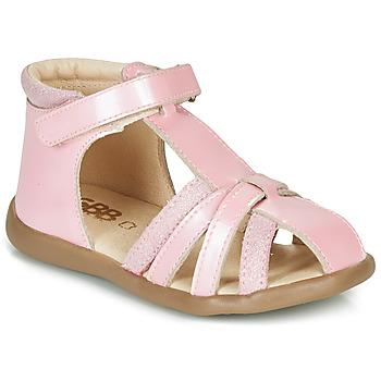 Buty Dziewczynka Sandały GBB AGRIPINE Różowy