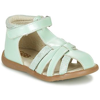 Buty Dziewczynka Sandały GBB AGRIPINE Zielony