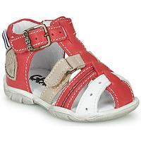 Buty Chłopiec Sandały GBB BYZANTE Czerwony