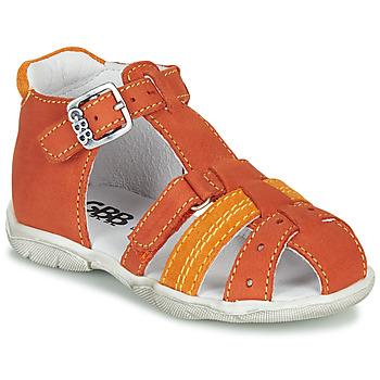 Buty Chłopiec Sandały GBB ARIGO Pomarańczowy
