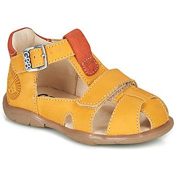 Buty Chłopiec Sandały GBB SEROLO Żółty / Pomarańczowy