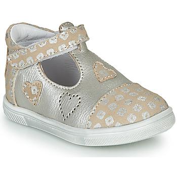 Buty Dziewczynka Baleriny GBB ANISA Beżowy