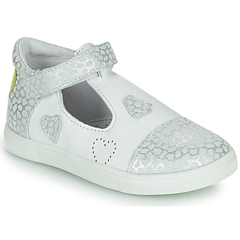 Buty Dziewczynka Trampki niskie GBB ANISA Biały