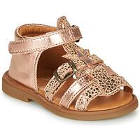 Buty Dziewczynka Sandały GBB CARETTE Różowy / Gold