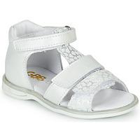 Buty Dziewczynka Sandały GBB NAVIZA Biały