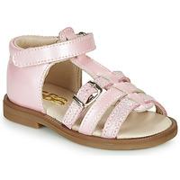 Buty Dziewczynka Sandały GBB ANTIGA Różowy