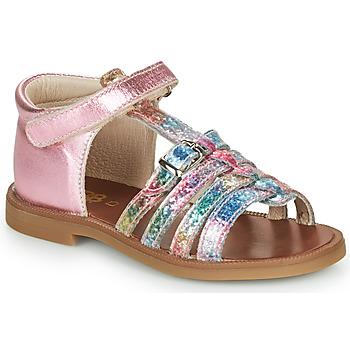 Buty Dziewczynka Sandały GBB PHILIPPINE Różowy