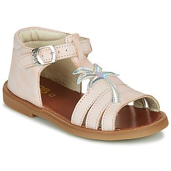 Buty Dziewczynka Sandały GBB ARAGA Różowy