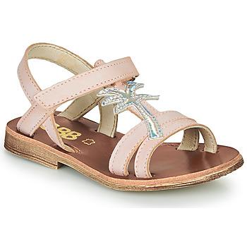 Buty Dziewczynka Sandały GBB SAPELA Różowy