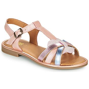 Buty Dziewczynka Sandały GBB EGEA Różowy