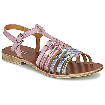Buty Dziewczynka Sandały GBB BANGKOK Różowy