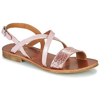 Buty Dziewczynka Sandały GBB FAVOLA Różowy