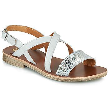 Buty Dziewczynka Sandały GBB FAVOLA Biały