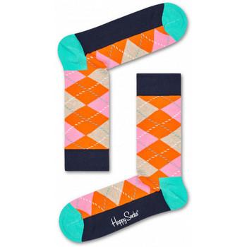 Dodatki Męskie Skarpety Happy Socks Argyle sock Wielokolorowy