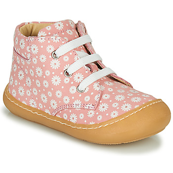 Buty Dziewczynka Trampki wysokie GBB ATARINA Różowy