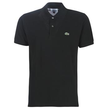 tekstylia Męskie Koszulki polo z krótkim rękawem Lacoste POLO L12 12 REGULAR Czarny