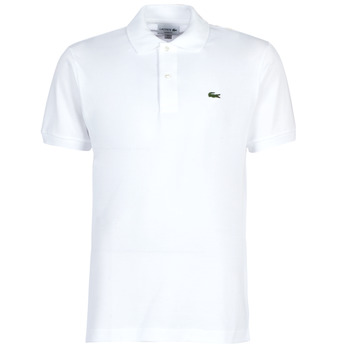 tekstylia Męskie Koszulki polo z krótkim rękawem Lacoste POLO L12 12 REGULAR Biały