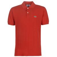 tekstylia Męskie Koszulki polo z krótkim rękawem Lacoste POLO L12 12 REGULAR Czerwony