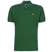 tekstylia Męskie Koszulki polo z krótkim rękawem Lacoste POLO L12 12 REGULAR Zielony