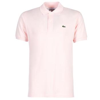 tekstylia Męskie Koszulki polo z krótkim rękawem Lacoste POLO L12 12 REGULAR Różowy
