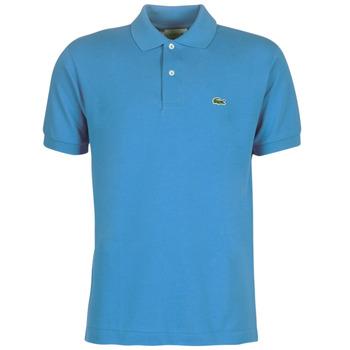tekstylia Męskie Koszulki polo z krótkim rękawem Lacoste POLO L12 12 REGULAR Niebieski