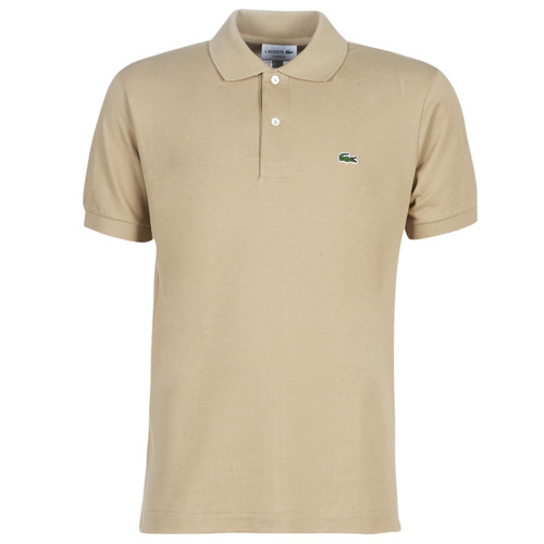 tekstylia Męskie Koszulki polo z krótkim rękawem Lacoste POLO L12 12 REGULAR Beżowy