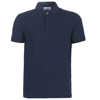 tekstylia Męskie Koszulki polo z krótkim rękawem Lacoste PARIS POLO REGULAR Marine