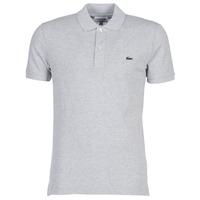 tekstylia Męskie Koszulki polo z krótkim rękawem Lacoste PH4012 SLIM Szary