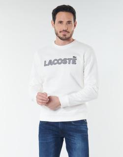 tekstylia Męskie Bluzy Lacoste SH8632 Biały