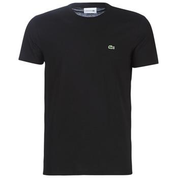 tekstylia Męskie T-shirty z krótkim rękawem Lacoste TH6709 Czarny