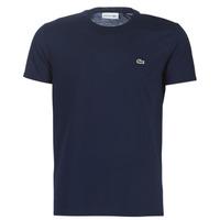tekstylia Męskie T-shirty z krótkim rękawem Lacoste TH6709 Marine