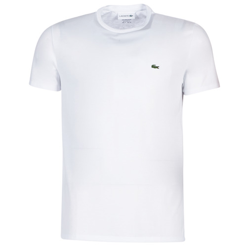 tekstylia Męskie T-shirty z krótkim rękawem Lacoste TH6709 Biały