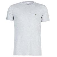 tekstylia Męskie T-shirty z krótkim rękawem Lacoste TH6709 Szary