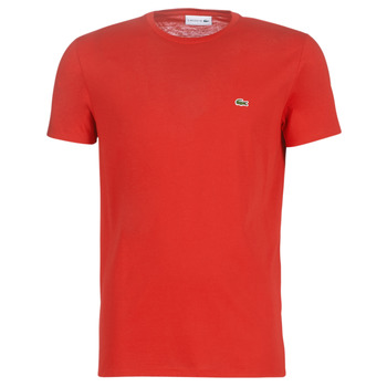 tekstylia Męskie T-shirty z krótkim rękawem Lacoste TH6709 Czerwony