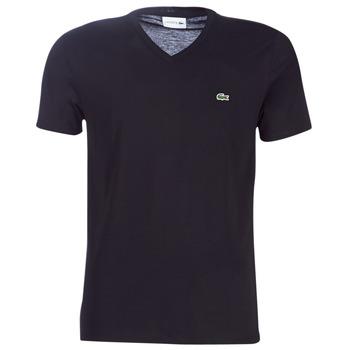 tekstylia Męskie T-shirty z krótkim rękawem Lacoste TH6710 Czarny