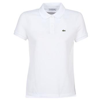 tekstylia Damskie Koszulki polo z krótkim rękawem Lacoste PF7839 Biały