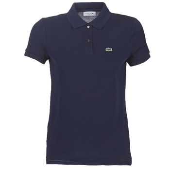 tekstylia Damskie Koszulki polo z krótkim rękawem Lacoste PF7839 Marine