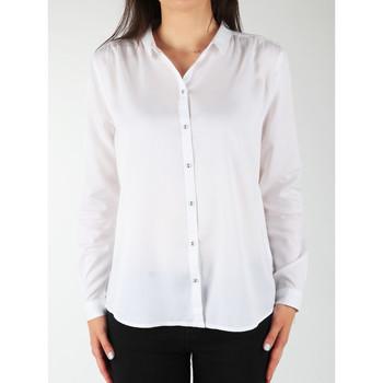tekstylia Damskie Koszule Wrangler Koszula  L/S Relaxed Shirt W5190BD12 biały
