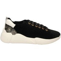 Buty Damskie Trampki niskie Colors of California SNEAKER WITH LACES black-nero