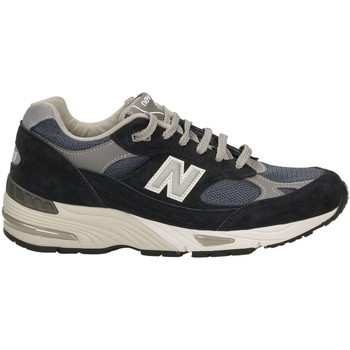 Buty Męskie Fitness / Training New Balance LEATHER 991 navy-navy