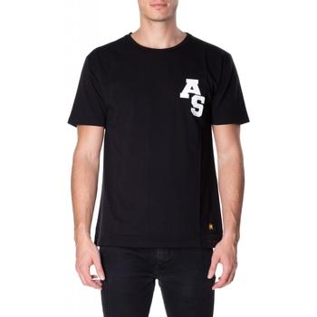 tekstylia Męskie T-shirty z krótkim rękawem Atlantic Star Apparel T-SHIRT col-5-nero
