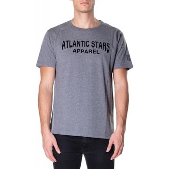 tekstylia Męskie T-shirty z krótkim rękawem Atlantic Star Apparel T-SHIRT col-2-grigio-chiaro
