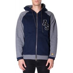 tekstylia Męskie Bluzy Atlantic Star Apparel FELPA col-2-blu-grigio