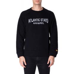 tekstylia Męskie Bluzy Atlantic Star Apparel FELPA col-3-nero