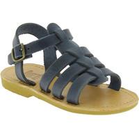 Buty Chłopiec Sandały Attica Sandals PERSEPHONE NUBUCK BLUE Niebieski